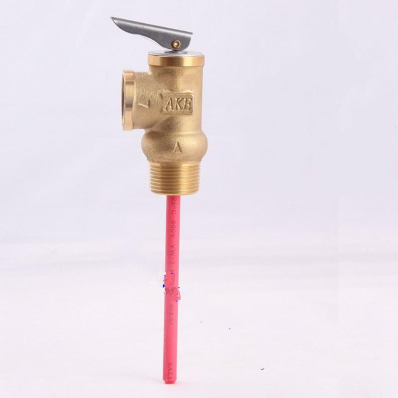 DN20 Brass TP Valve, Temperature Pressure Relief Valve  0.6MPa DN15  DN20