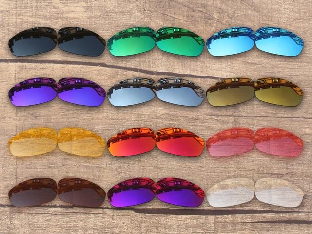 83212a4b1cc4a PapaViva POLARIZADA Lentes de Reposição para óculos de Sol de Split Jacket  100% UVA