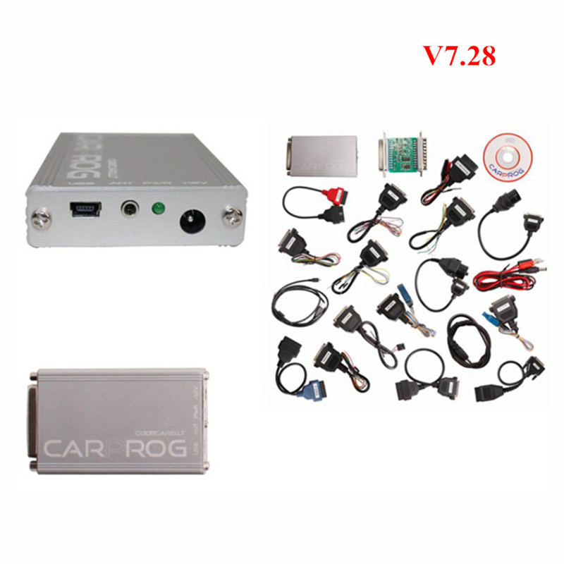 ФОТО Free Car prog V9.31 Repair Tool CarProg Full Adapter Airbag Reset Programmer for Radios Dashboards Immobilizers