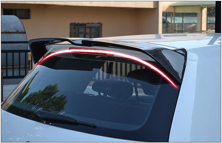 Carbon Fiber REAR WING TRUNK SPOILER FOR Volkswagen VW <font><b>GOLF</b></font> 7 MK7/GTI/<font><b>R</b></font>/<font><b>R</b></font>-line 2014 2015 2016 2017 <font><b>2018</b></font> image