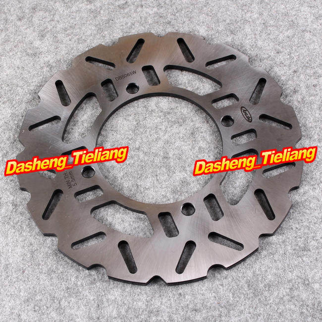 Stainless Steel Rear Brake Disc Rotor For Kawasaki 2007 2008 2009 2010 Z750 Z1000 GTR ZZR 1400, Motorcycle Disk Part Accessories for honda nc700 nc750 ctx700 nm4 vultus motorcycle accessories rear wheel brake disc rotor od 240mm stainless steel