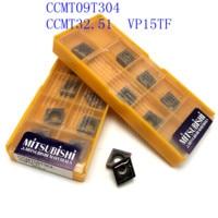vp15tf ue6020 20PCS CCMT09T304 / CCMT32.51 VP15TF / UE6020 / US735 כלי CNC כלי קרביד כלי רכב סיבוב פנימי מחרטה כלי מחרטה כלי (4)
