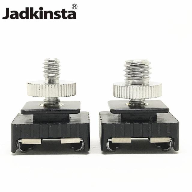 "Jadkinsta Adaptador de montura de zapata de Metal Flash novedoso, rosca de tornillo de 1/4 ""para trípode de estudio con soporte para luz, accesorios para cámara"