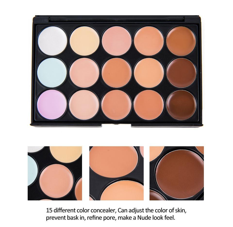 Alta qualidade conjunto de maquiagem 15 cores