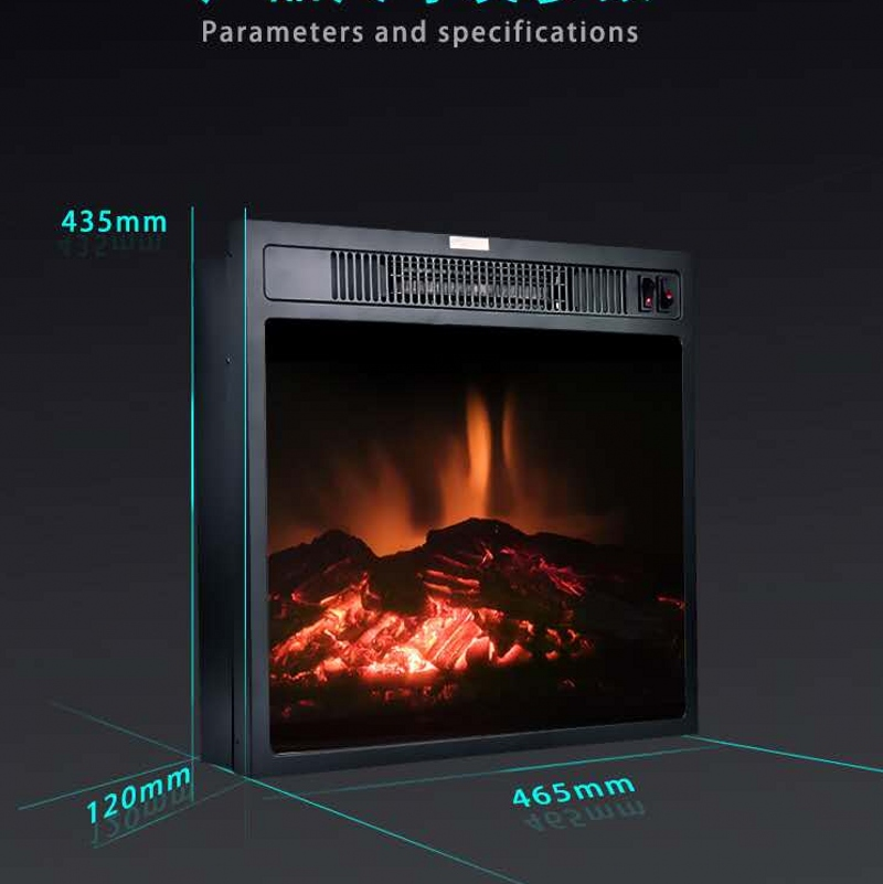 free shipping  cheap 18 inch insert electric fireplace with remote control hearth