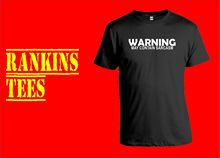 WARNING MAY CONTAIN SARCASM T Shirt Sarcastic Nerd Funny Humour Tee Joke New Shirts Tops Unisex