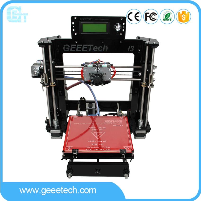 Geeetech I3 Pro C 3D Printer Double Nozzles Dual Extruders DIY Printing Kits Reprap Pursa I3