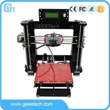 Geeetech I3 Pro C 3D Принтер Двойного Сопла Двойной Экструдеры DIY Комплекты для Печати Reprap Pursa I3 Бесплатный LCD2004