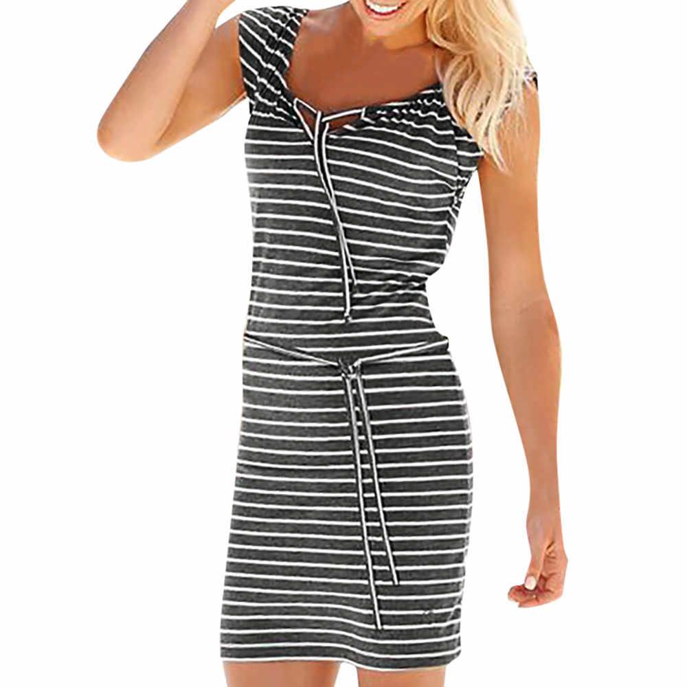 Модное женское летнее богемное длинное платье в полоску, вечернее пляжное платье, пляжная мода для женщин, летнее пляжное платье 2019