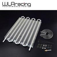 Wlring店-ユニバーサル304.8 × 254 × 19.05アルミリモート伝送オイルクーラーキット/AUTO-MANUALラジエーターコンバータWLR7431