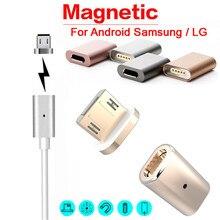 Mosunx futural цифровой новый горячий micro usb магнитный адаптер зарядного устройства кабель металлический штекер для android samsung lg f35