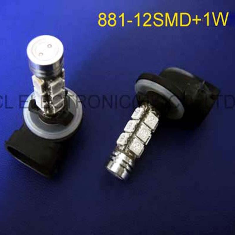 Dedicated High Quality 12v 881 Car Led Fog Lamp,881 Led Car Bulbs Ac/dc12v 881 High Power Led Lights Lamps Bulbs Free Shipping 20pcs/lot Led Bulbs & Tubes