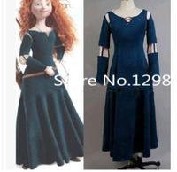 Princess Merida Brave Merida Cosplay Dress Adult Costume role playing Party Halloween Costumes Custom Made