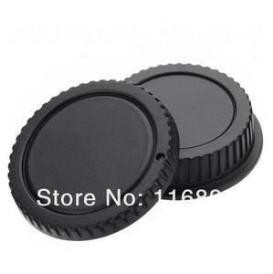 Image 2 - 10 pares câmera tampa Do Corpo + Lente Rear Cap para Canon 1000D 500D 550D 600D T1i EF S Rebel eos EF câmera