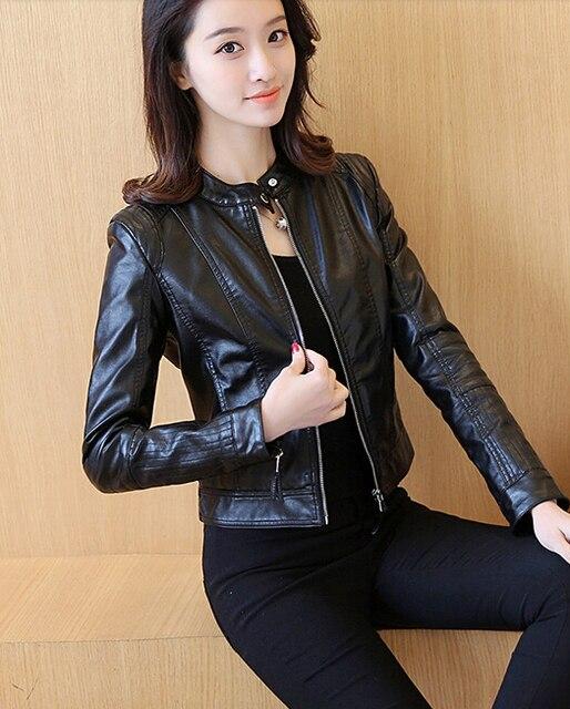 Veste cuir blanc femme 52