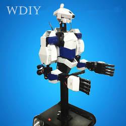 DIY обучающий умный инновационный робот имитативное моделирование жизненной силы гуманоидный робот