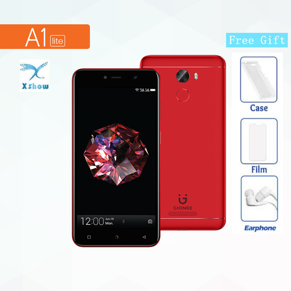 """Gionee A1 Lite Mobile phone 5.3"""" 3GB RAM 32GB ROM Android 7.0 13MP+20MP Camera MTK6753 720P 4000mAh Battery 1280x720 Smart phone"""