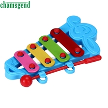 CHAMSGEND Baby Kid 4-Note Xylophone Musical Toys Wisdom Development S30