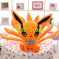2016 New Naruto Kurama Stuffed Toy Naruto Kyuubi Plush Doll 25CM Toy Brinquedos Anime