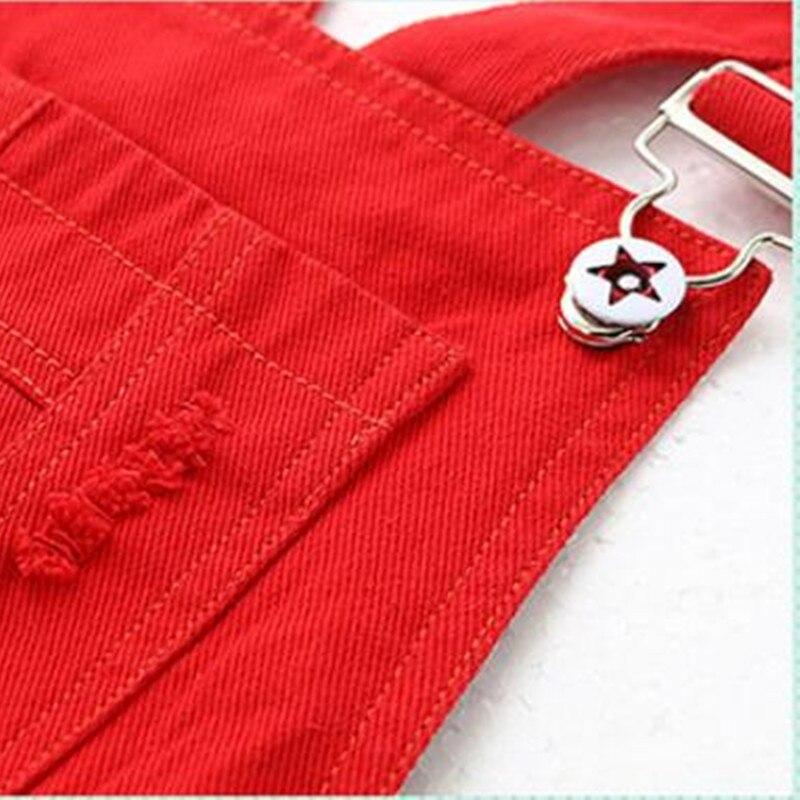 Meisjesjeans Denim overall shorts voor vrouwelijke studenten kind - Kinderkleding - Foto 2
