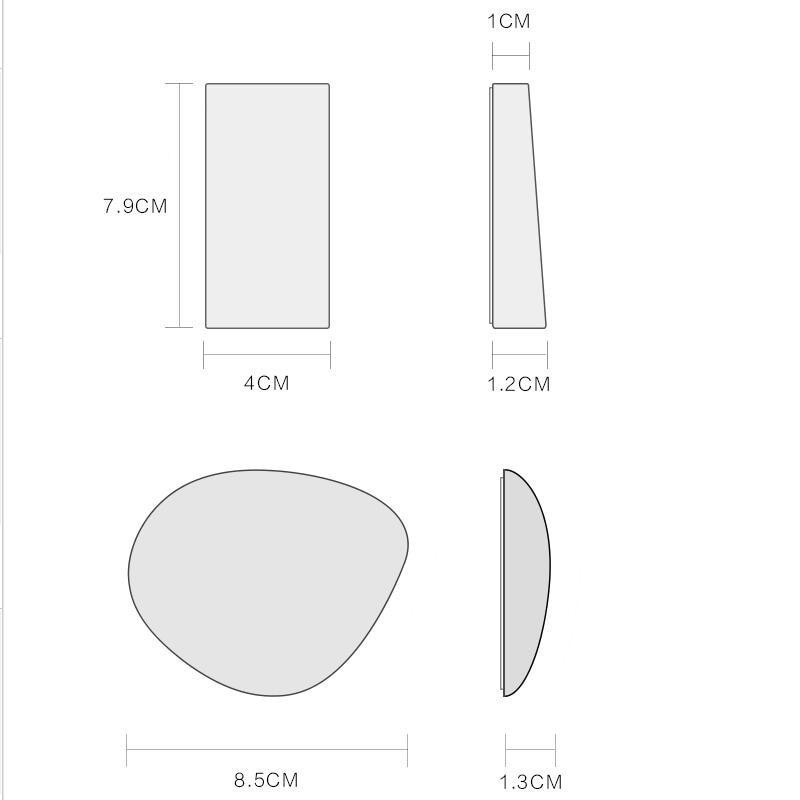 Tömör fa kreatív kulcs kapcsolódik a falra lógó erős ragasztó - Szervezés és tárolás - Fénykép 6