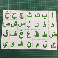Hemere 28PC Arabic Letters METAL CUTTING DIES Cut Stitched DIY Scrapbook PAPER CRAFT card album embossing stencil template punch