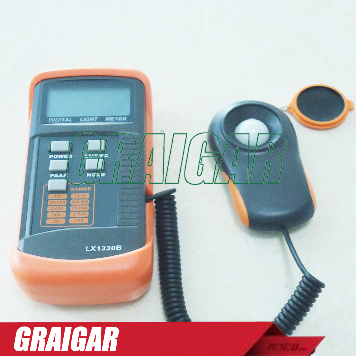купить LX1330B Digital LCD Display Lux Meter Light Gauge Tester Illuminometer Tool недорого