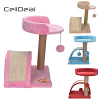 Cat Tree Furniture Kitten Climbing Activity Center Post Bed Cat Scratcher Tree Tower Scratching Post