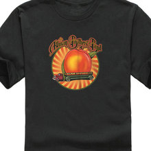 Create Shirts Crew Neck The Allman Brothers Band  Peach Lorry Gym Clothing Office Tee For Man Hipster O-Neck Causal Cool Tops