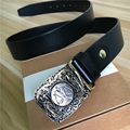 Mens Cinturones de Lujo Libra Cinturón Ancho Cinturón de Hebilla de Los Hombres de Cuero Genuino Ceinture Homme Cinturones Hombre Vaquero Jeans Cinturón MBT0425