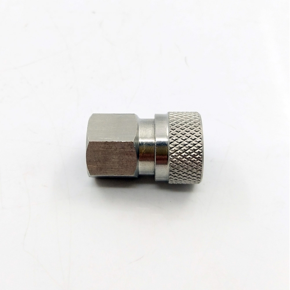 "Image 3 - Paintball PCP Quick Release Disconnect Filling Charing Hose Fitting 8mm Stainless Female Socket Connector 1/8"" NPT-in Paintball Accessories from Sports & Entertainment"