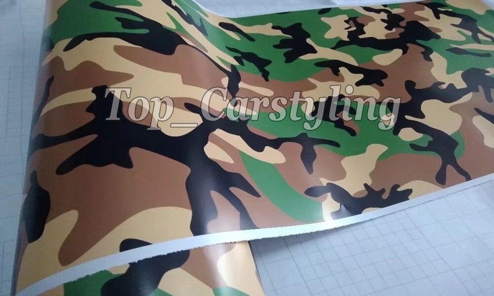 Protection noir vert brun Camouflage vinyle moto voiture véhicule Scooter bricolage Camo vinyle Wrap avec bulle gratuit