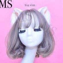 New Cat Ears Hair Hoop Hairpin girl hair accessories hairband for women scrunchie deer ears hair bows Hand Work даббинг hemingway deer hair