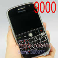 9000 Cellphones Original Refurbished Blackberry 9000 Bold Mobile Phone Unlocked 3G GPS Wi-fi Bluetooth & One year warranty