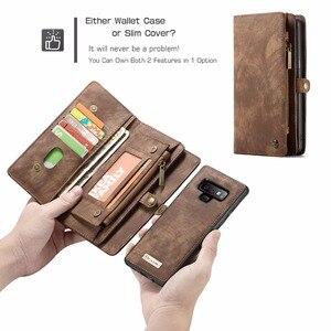Image 4 - CaseMe Cassa del Cuoio di Vibrazione Per Samsung Nota 8 9 10 S8 S9 S10 Più S20 A30 A40 A50 A70 A51 multi funzionale Magnetica Casse Del Telefono