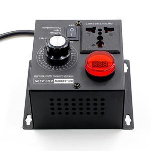 Image 4 - Электрический регулятор напряжения, 220 В, 4000 Вт