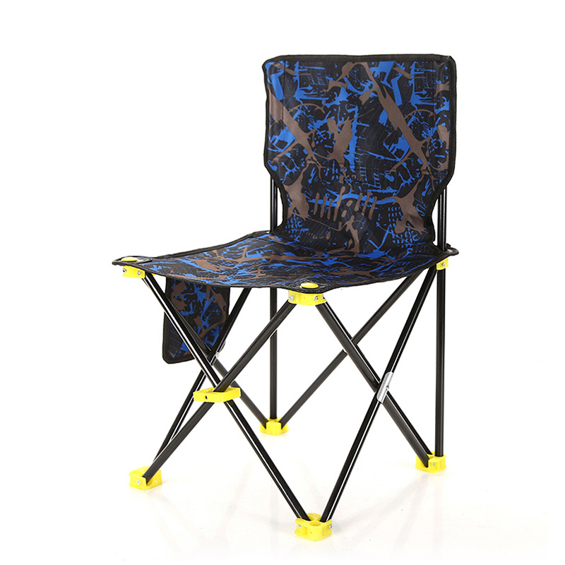 Beach With Bag Portable Folding Chairs Fishing Camping Chair Seat  Oxford Cloth Lightweight Seat For Outdoor Picnic BBQ