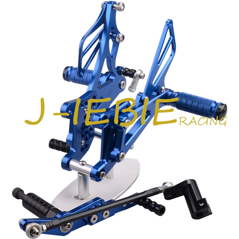 CNC Racing Rearset Adjustable Rear Sets Foot pegs Fit For Yamaha YZF R1 2007 2008 BLUE morais r the hundred foot journey