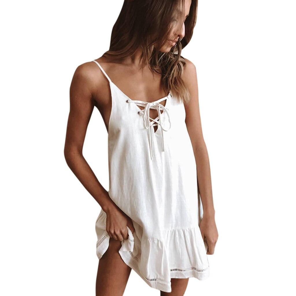 Kleid Abend Frauen Sommer Kurz Mini Polyester Neu Heißer Verkauf Stilvoll