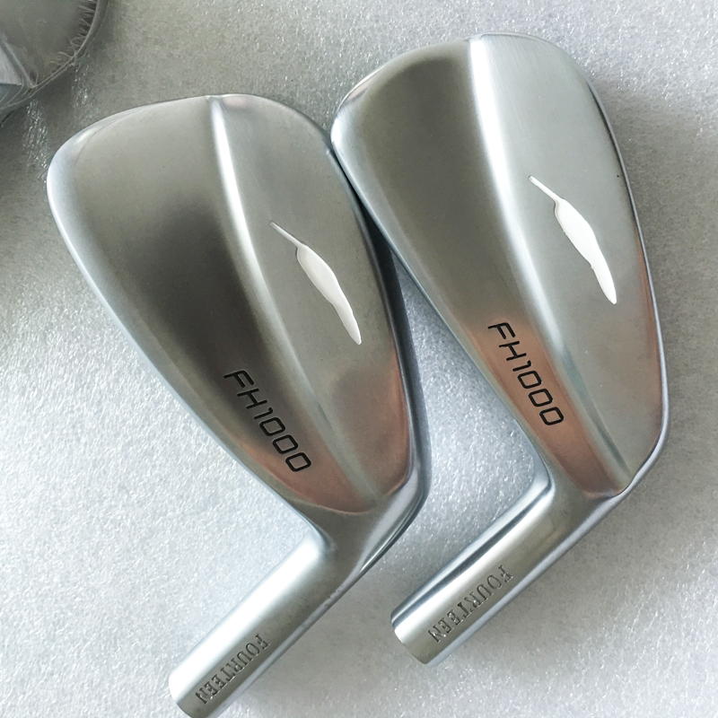 New mens Golf head FOURTEEN FH1000 Golf irons head set 4-9P Golf Club head no Clubs shaft Free shipping new golf head romaro alcobaca tour stream forged carbon steel golf wedge head have 50 56 58 deg loft no golf shaft free shipping