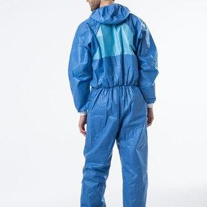 Image 5 - 3M 4532 معطف واقي غرف الأبحاث الملابس ومكافحة ساكنة مكافحة الكيميائية السائل سبلاش الإشعاع حماية فعالة الجسيمات