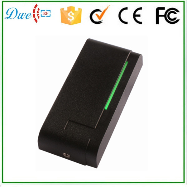 DWE CC RF proximity rfid card reader 13.56mhz wiegand 34 waterproof RFID card reader for access control dwe cc rf 2017 hot sell 13 56mhz 12v wg 26 rfid outdoor tag reader for security access control system