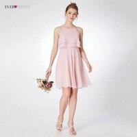 Short Bridesmaid Dresses Ever Pretty EP04051 Fashion Chiffon A Line Summer Sleeveless Party Dresses For Wedding