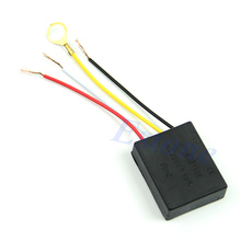 1pc Lamp touch Switch 220V 1A Electrical Equipment Table light Parts On off 1 Way Touch Control Sensor Bulb Lamp Switch cheap OOTDTY Plastic Switches see information Touch On Off Switch AC 220V + - 10 50HZ 4 4 x 3 4 x 1 3cm 1 73 x1 33 x0 51 (approx )