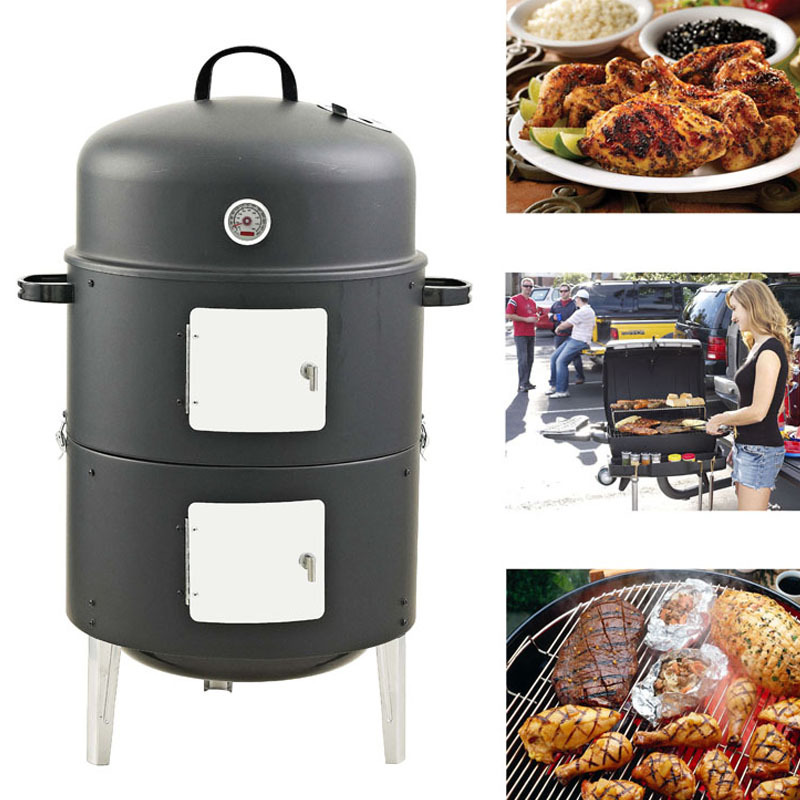 Protable Charcoal Barbecue Household Family Party Cooking Tools BBQ Charcoal Grill Picnic Easily Assembled Outdoor Camping Grill