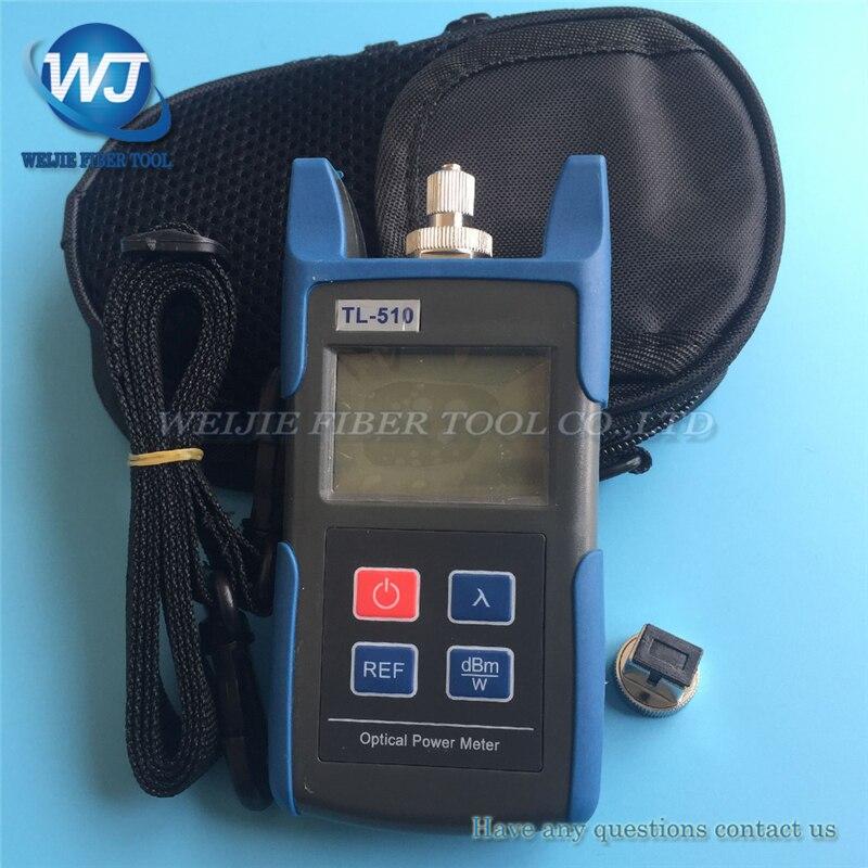 FTTH Mini Fiber Optical Power Meter TL510 TL510C Fiber Optical Cable Tester Optical Tester -50dBm~+26dBm FC SC ST Connector