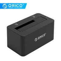 ORICO 2.5/3.5 inch USB3.0 SATA HDD/SSD Hard Disk Box Docking Station Hard Drive Case Enclosure 8TB with 12V2A Power Adapter