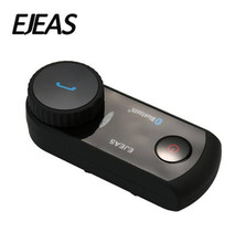 EJEAS Motorcycle Intercom Helmet Headset Bluetooth Comunicador Moto Interphone Wireless For 4 Riders
