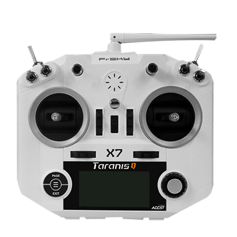 FrSky ACCST Taranis Q X7 Transmitter 2.4GHz 16CH QX7 Transmitter TX No Receiver Remote Control for RC Racer FPV Drone mtx9d multi protocol tx module multiprotocol radio frequency head toy mtx for frsky x9d remote control quadcopter accessories