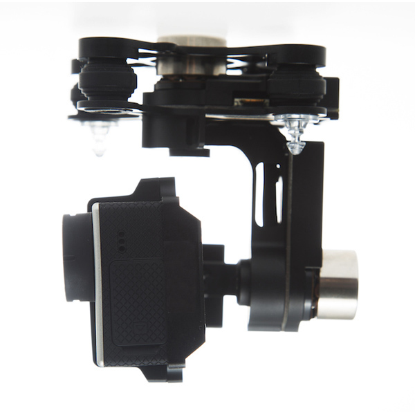 Authorized DJI Zenmuse H3-3D 3 axis FPV Camera Gimbal with GCU Module for Gopro Hero 3 for DJI F450/F550/S800 (Standard Version) fpv ptz gopro zenmuse h3 3d gimbal carbon fiber adapter plate mounting board for spreading wings s800 s1000 tarot t810